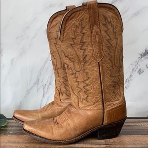 Old West LF1529 embroidered western boot 5